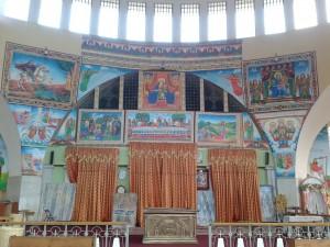 Inside the church - consider it 200birr saved
