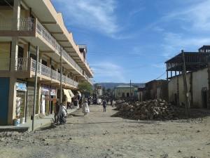 Adigrat Street Scene