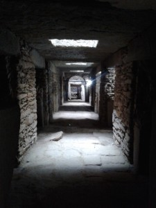 underground at stelae field